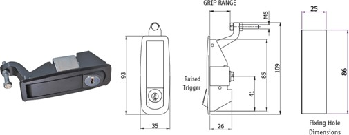 Trigger Handle Latches